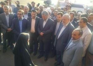 افتتاح خط انتقال تصفیهخانه گرمسار به ایوانکی با حضور وزیر نیرو