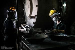 ثبت رکورد تولید شمش روی