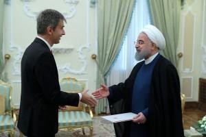 دیپلمات اقتصاددان سوییسی در تهران