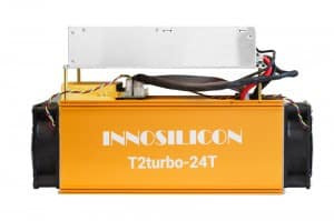 فروش innosilicon T2 turbo – ماینر اینوسیلیکون T2 توربو