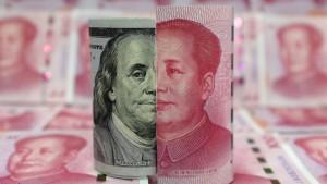سقوط یوان به کمترین رقم در برابر دلار