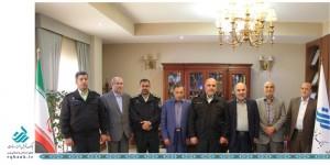گسترش همکاری ناجای تهران بزرگ و بانک قرض الحسنه رسالت