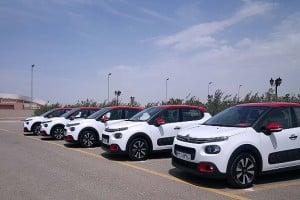 استقبال مشتریان از تحویل خودروهای سیتروئن c۳