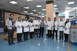 بازدید مدیران ارشد بانک صادرات از سایت تولید شرکت توسنتکنو