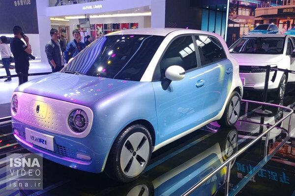 تولید ارزانترین خودروی الکتریکی در چین