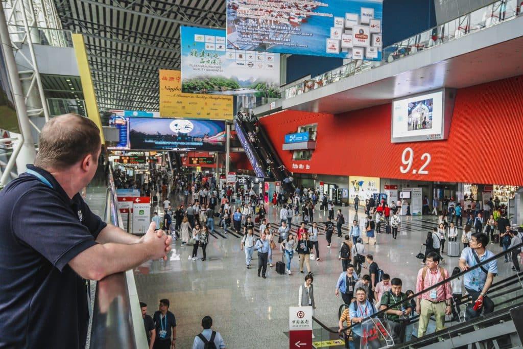 نمایشگاه کانتون فیر بزرگترین همایش تجاری و بازرگانی دنیا است
