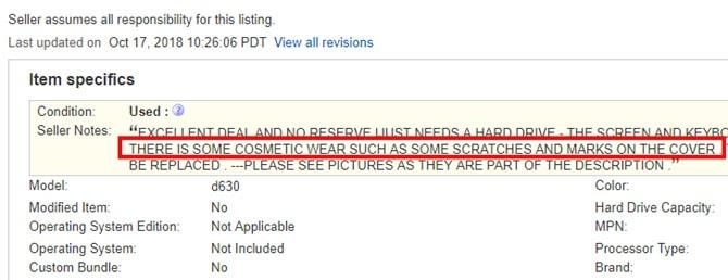 بررسی محصول در ای بی (eBay)