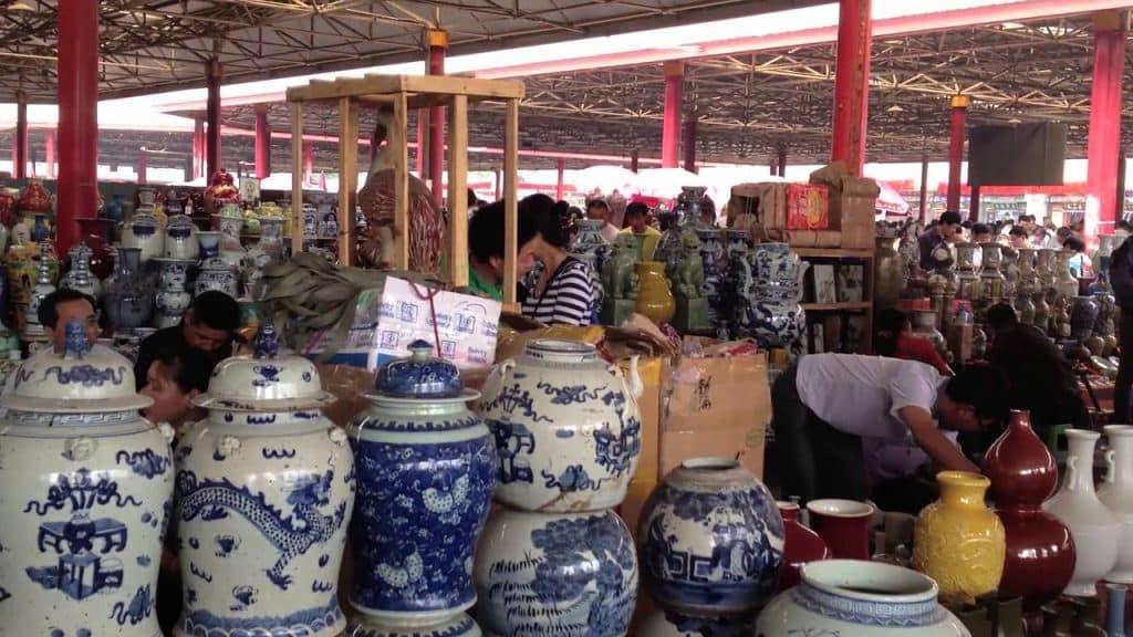 بازار سرامیک Jingdezhen