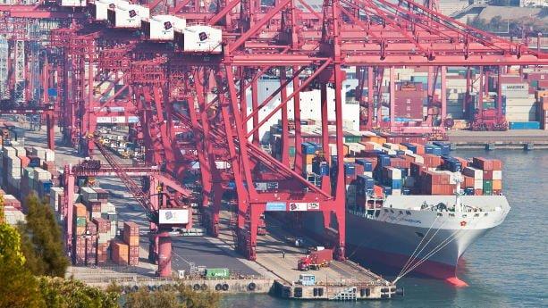 مالیات هنگام حمل دریایی از چین
