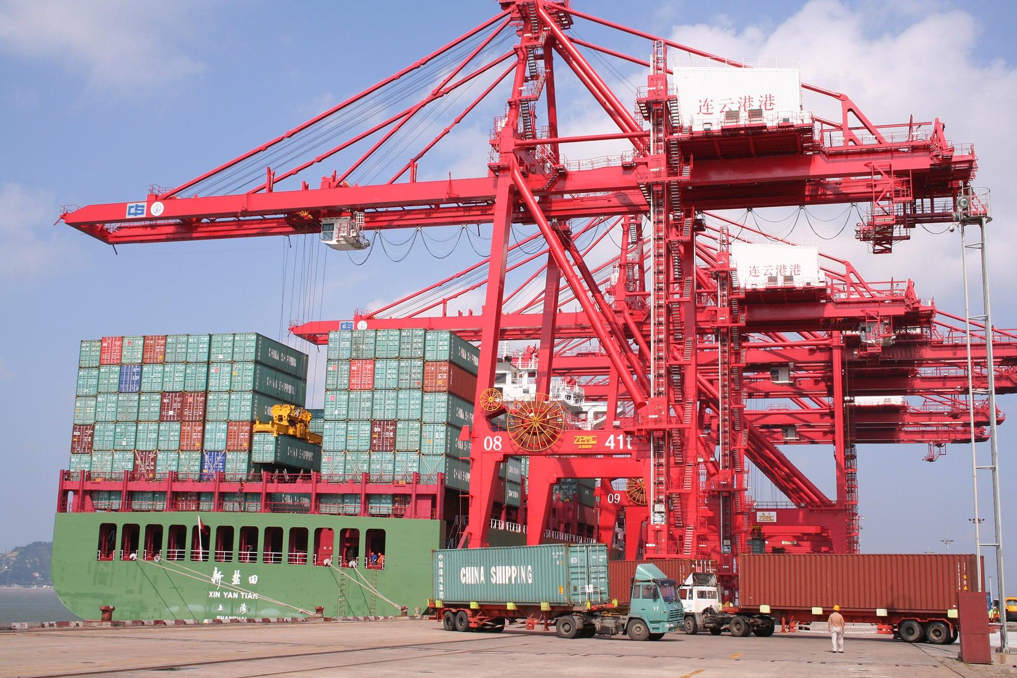 هزینههای حمل دریایی از چین