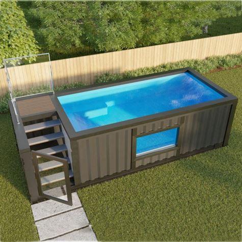 کانتینر برای استخر شنا