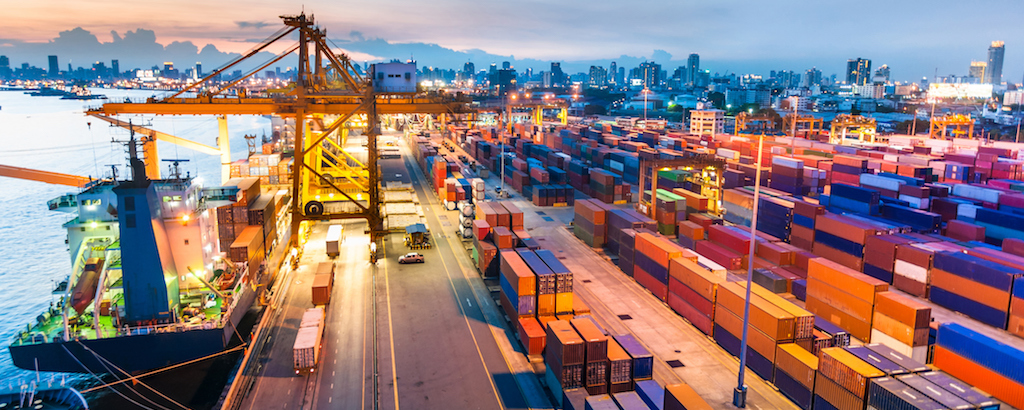 صادرات با کشتی