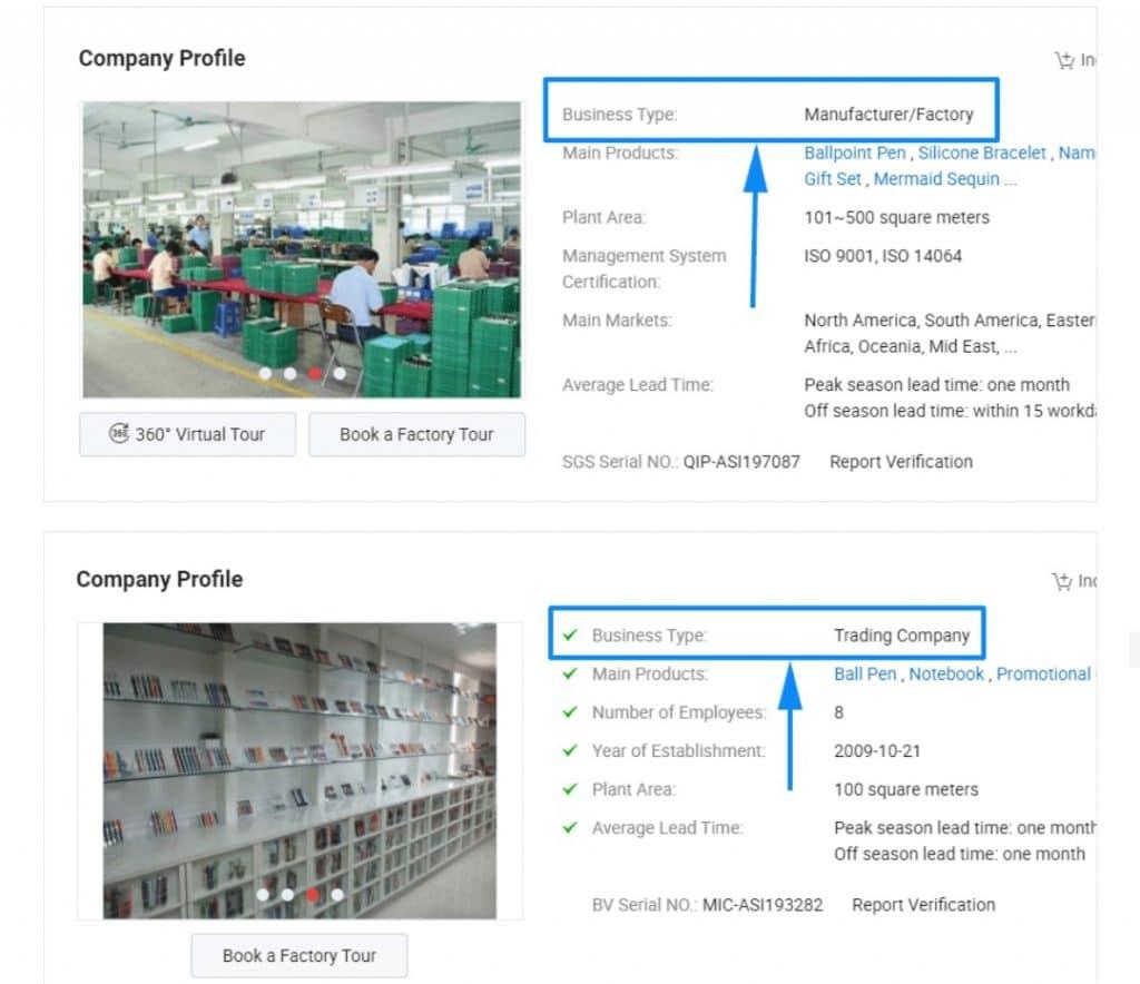 نوع کسب و کار عمده فروشی ساخت چین