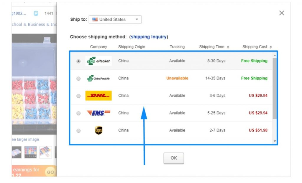 ارسال کالا در عمده فروشی DHgate
