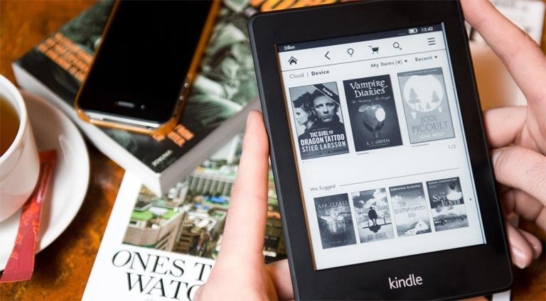 کتاب کیندل در سایت آمازون