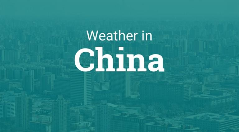 آب و هوا در کشور چین